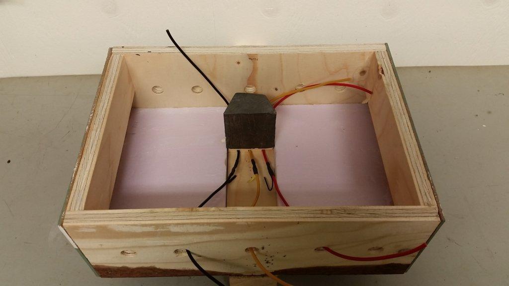 Kablar till rälsens strömförsörjning