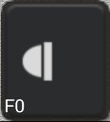 Ikon för knapp F0