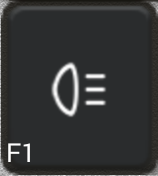 Ikon för knapp F1