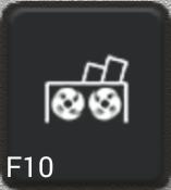 Ikon för knapp F10