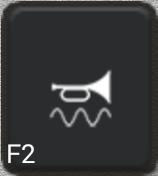 Ikon för knapp F2