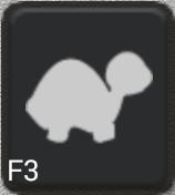 Ikon för knapp F3