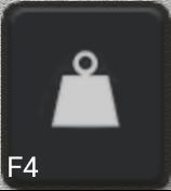 Ikon för knapp F4