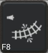 Ikon för knapp F8